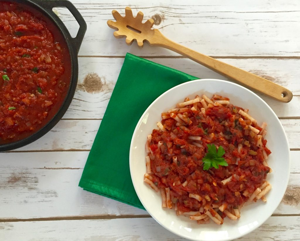 Simple Homemade Marinara Sauce