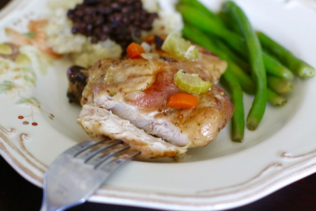 Simple Baked Chicken - What does Father's Day and The Cure Have in Common? 2- runcooklaugh.com