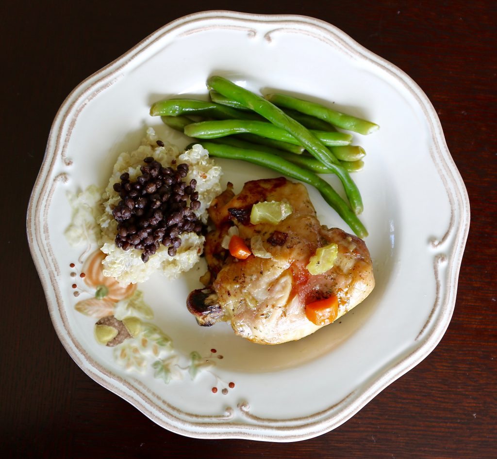 Simple Baked Chicken - What does Father's Day and The Cure Have in Common? - runcooklaugh.com