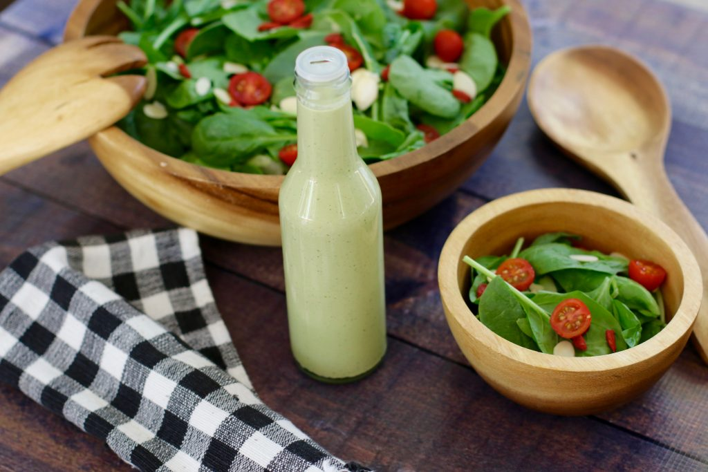 Tahini & Chickpea Miso Dressing - Hiking, Hiking & More Hiking! - runcooklaugh.com