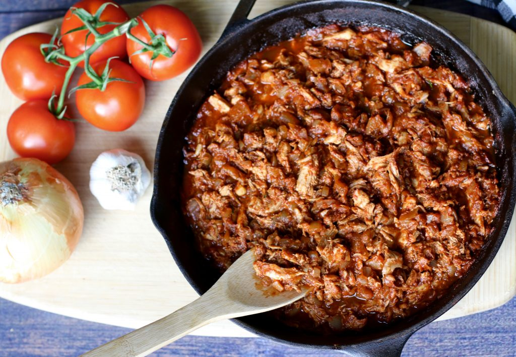 Healthy BBQ Paprika Pulled Chicken - Check Out My Secret Ingredient! - runcooklaugh.com
