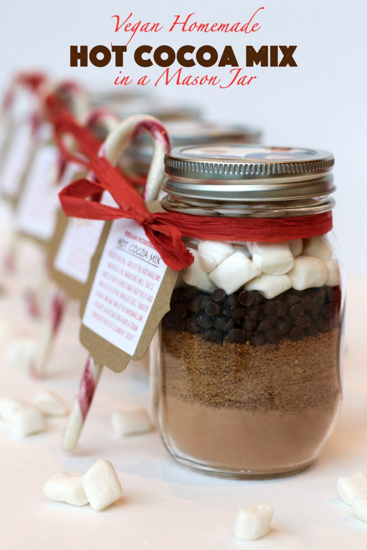 Vegan Homemade Hot Cocoa Mix In A Mason Jar Runcooklaugh